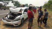 Kecelakaan Beruntun di Tol Surabaya-Malang