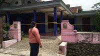 Rumah Korban yang Dipasang Police Line