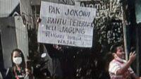 Tangkap Layar Poster Milik Pengunjung di Blitar