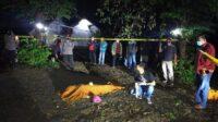 Lokasi tempat mayat gadis 14 tahun di Kediri ditemukan (Foto: Dok. Polres Kediri)