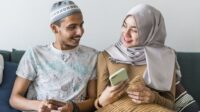 Ilustrasi Pasangan Muslim