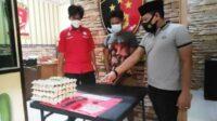 Polisi Mengamankan Pelaku Pencurian Telur