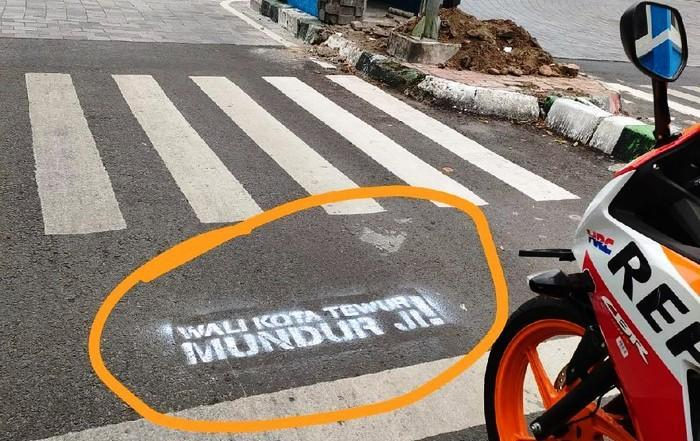 Viral Vandalisme Wali Kota Malang