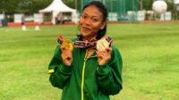 Susi Dewi Wulandari, atlet Kontingen Jatim di PON XX Papua asal Kota Madiun/Foto: Istimewa